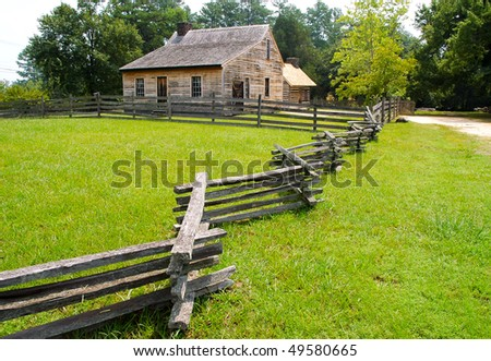 Bennett Place State Historic Site - stock photo