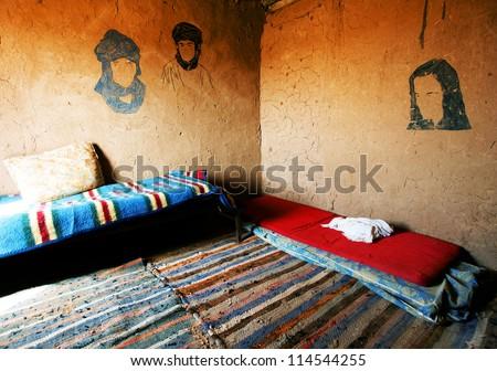 Berber interior - stock photo