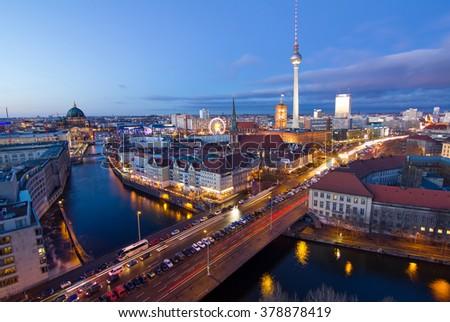 Berlin - stock photo