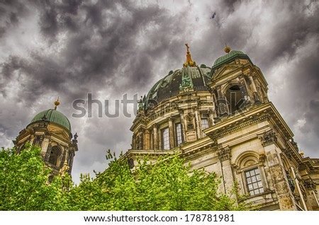 Berlin and its landmarks - Germany - stock photo