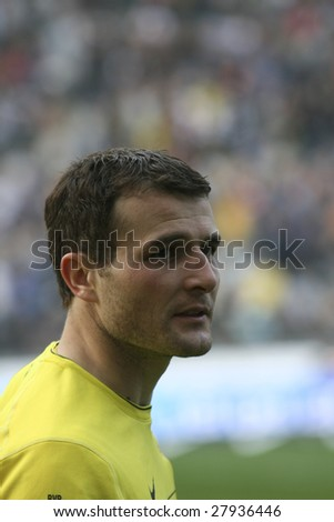 BERLIN - APRIL 4: BVB striker Alexander Frei after the match against Hertha BSC (1:3) on April 4, 2009 in Berlin, Germany.