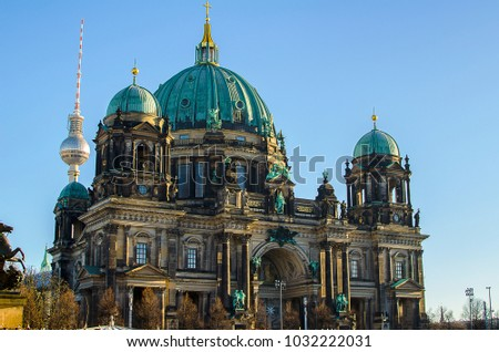 Berlin Cathedral baroque