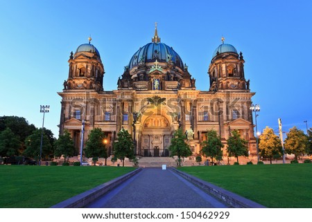 Berlin Cathedral Berlin, Germany - stock photo