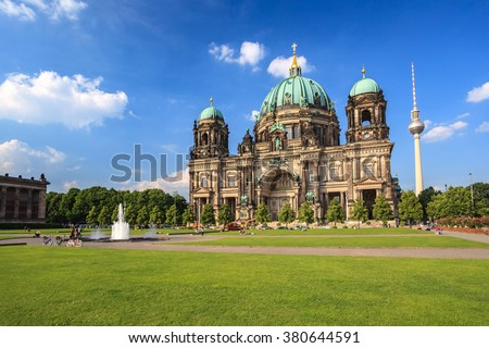 Berlin Cathedral, Berlin, Germany - stock photo