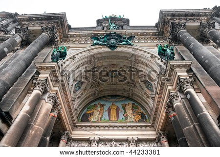 Berlin cathedral, Berlin, Germany. - stock photo