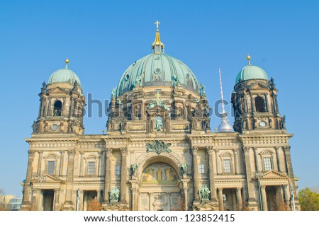 Berlin Cathedral during day light