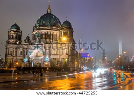 Berlin Cathedral, Germany. - stock photo