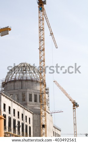 Berlin City Palace  - stock photo