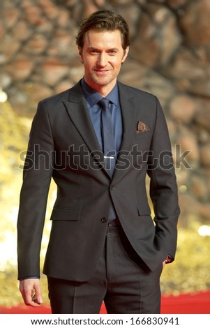 BERLIN - DEC 9: Richard Armitage at The Hobbit: The Desolation of Smaug - German premiere on December 9, 2013 in Berlin, Germany - stock photo