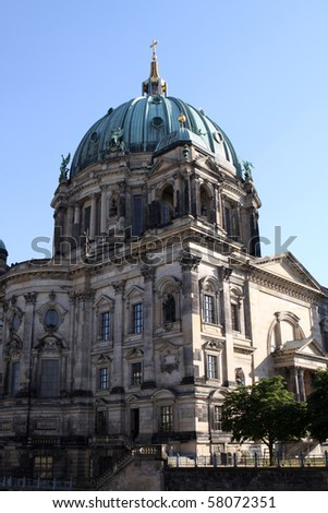Berlin Dome or Berlin Cathedral - stock photo