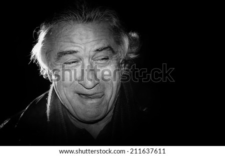 BERLIN - FEBRUARY 10: Actor Robert De Niro attends the premiere to promote the movie 'The Good Shepherd' during the 57th Berlin International Film Festival on February 10, 2007 in Berlin, Germany - stock photo