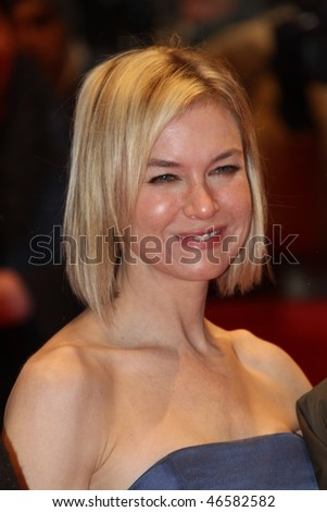 BERLIN - FEBRUARY 11: Actress Renee Zellweger attends the 'Tuan Yuan'  Premiere during day one of the 60th Berlin  Film Festival at the Berlinale Palast on February 11, 2010 in Berlin, Germany - stock photo