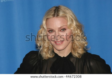 BERLIN - FEBRUARY 13: Madonna attends the 'Filth and Wisdom' photocall as part of the 58th Berlinale Film Festival at the Grand Hyatt Hotel on February 13, 2008 in Berlin, Germany