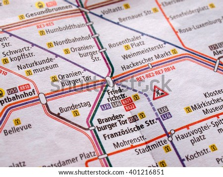 Train Map Stock Images RoyaltyFree Images Vectors Shutterstock - Germany underground map