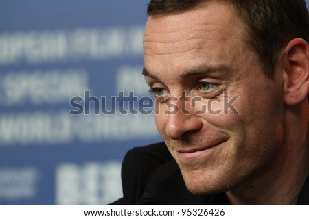 BERLIN, GERMANY - FEBRUARY 15: Actor Michael Fassbender attends the 'Haywire' Press Conference during of the 62nd Berlin  Film Festival at the Grand Hyatt on February 15, 2012 in Berlin, Germany.