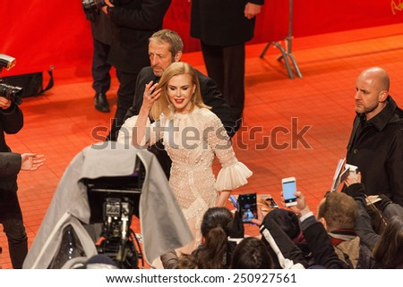 BERLIN, GERMANY - FEBRUARY 06: Actress Nicole Kidman attends the 'Queen of the Desert' premiere during the 65th Berlinale International Film Festival at Berlinale Palace on February 6, 2015