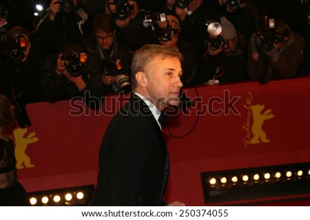 BERLIN, GERMANY - FEBRUARY 05: Christoph Waltz   attends the opening party during the 65th Berlinale International Film Festival at Berlinale Palace on February 5, 2015 in Berlin, Germany. - stock photo