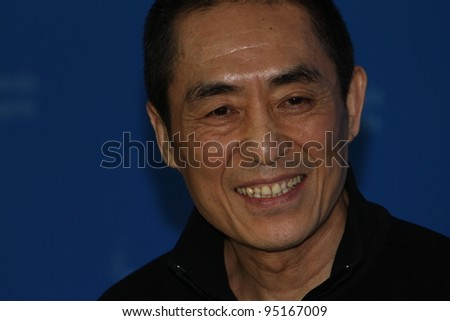 BERLIN, GERMANY - FEBRUARY 13: Director Zhang Yimou  attends 'The Flowers of War' Photocall during  of the 62nd Berlin  Film Festival at the Grand Hyatt on February 13, 2012 in Berlin, Germany