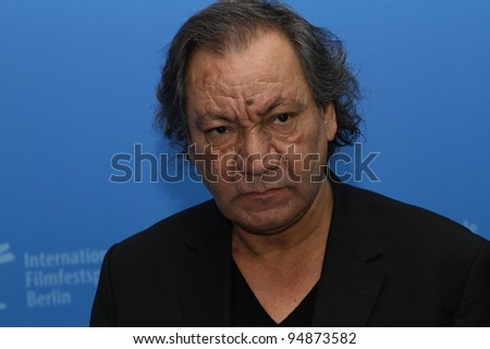 BERLIN, GERMANY - FEBRUARY 10: French director Tony Gatlif gives a press conference to present the film 'Indignados' of the 62 Berlin Festival at the Hyatt on February 10, 2012 in Berlin, Germany.