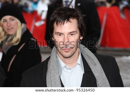 BERLIN, GERMANY - FEBRUARY 15: Keanu Reeves attends the 'Side By Side' Premiere during of the 62nd Berlin  Film Festival at the Haus Der Berliner Festspiele on February 15, 2012 in Berlin, Germany