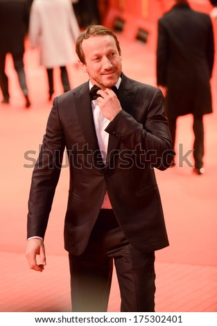 "BERLIN - GERMANY - FEBRUARY 6: Wotan Wilke Moehring at the 64th Berlinale International Film Festival ""The Grand Budapest Hotel"" premiere at Berlinale Palast on February 6, 2014 in Berlin, Germany."