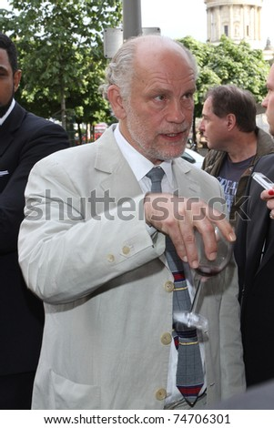 BERLIN, GERMANY - JULY 6: John Malkovich attends the presentation of his men's fashion line at luxury boutique 'The Corner' on July 6, 2010 in Berlin, Germany