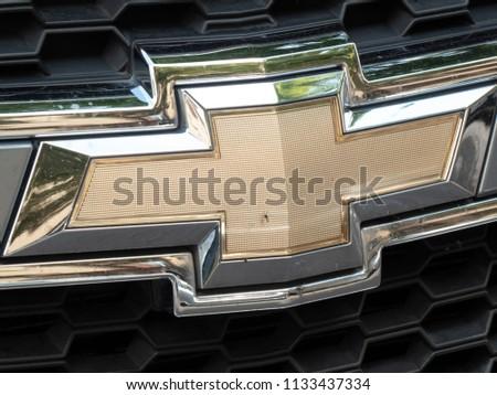Berlin Germany June 27 2018 Chevrolet Stock Photo Edit Now