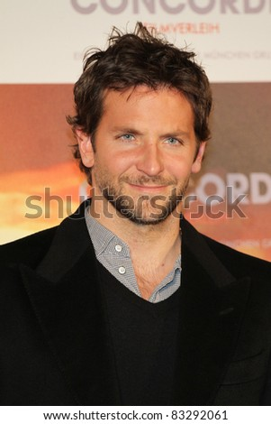 BERLIN, GERMANY - MARCH 29: Bradley Cooper attends the German Photocall of 'Limitless' at Hotel De Rome on March 29, 2011 in Berlin, Germany. - stock photo
