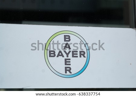 Berlin Germany May 7 2017 Bayer Stock Photo 100 Legal Protection