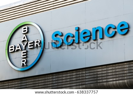 Berlin Germany May 7 2017 Bayer Stock Photo Download Now 638337757