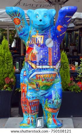 Berlin Germany 09 22 17 Symbol Stock Photo Edit Now 750108121
