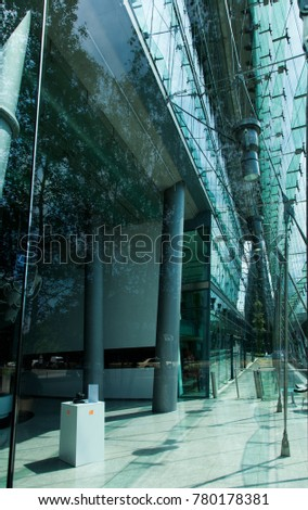 Berlin 18 JUN Modern Architecture Elements Stock Photo (Royalty Free ...