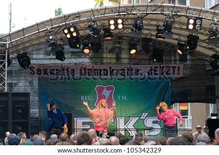 "BERLIN - JUNE 16: Main Stage festival, ""Christopher Street Day"", June 16, 2012 Berlin, Germany"