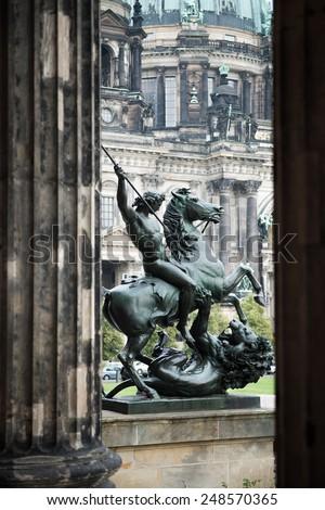 Berlin Lustgarten - stock photo