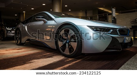 berlin november 28 2014 showroom bmw stock photo 234122161 shutterstock. Black Bedroom Furniture Sets. Home Design Ideas