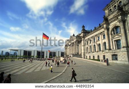 Berlin Reichstag - stock photo