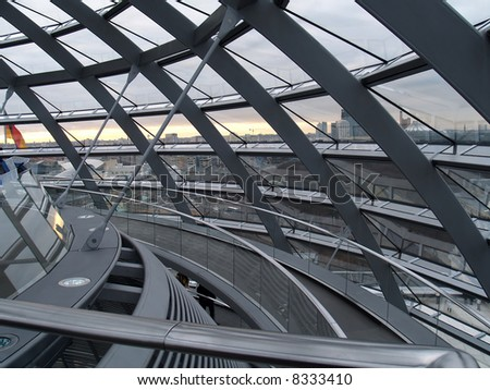 Berlin Reichstag - stock photo
