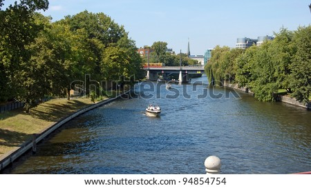 Berlin Skyline City - stock photo