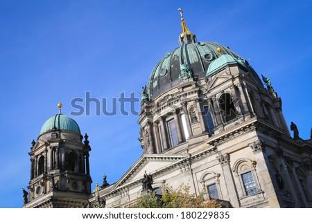 Berliner Dom - stock photo