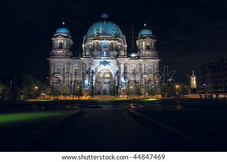 Berliner Dom (Berlin Cathedral), Berlin, Germany - stock photo