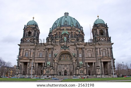 Berliner Dom on Unten den Linden, Berlin, Germany - stock photo