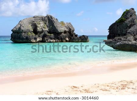 Bermuda Beach - stock photo