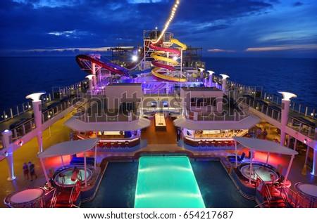 Bermuda May Norwegian Breakaway Largest Stock Photo - Norwegian breakaway cruise ship