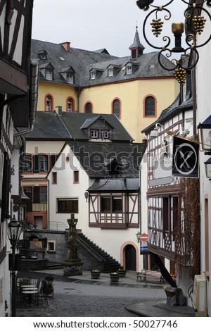 Bernkastel in Germany - stock photo
