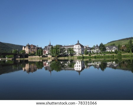 Bernkastel on the River Mosel Germany