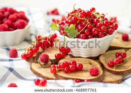 berry current, raspberries