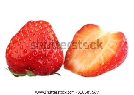 Berry strawberry - stock photo
