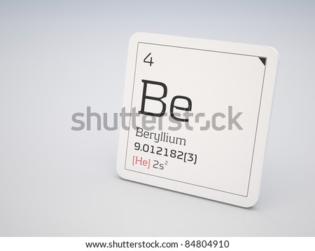 Beryllium - element of the periodic table
