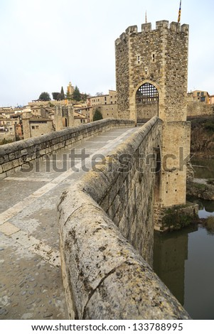 Besalu Spain, a Catalan village, seems to have stopped the clock in the middle ages.