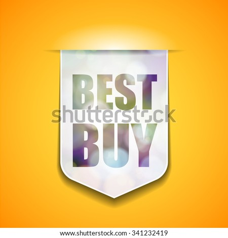 Best Buy tag - stock photo